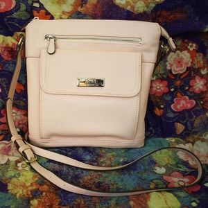 Jones New York Signature Crossbody Soft Pink Purse